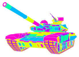 T-90A Colorful by Pow3rade