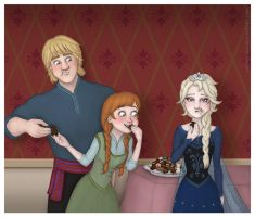 Frozen - Chocolate by Lucy--C