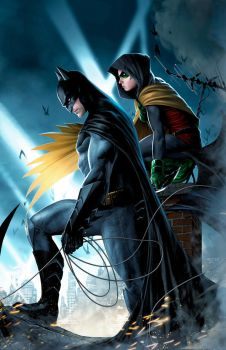 Batman-Robin by JPRart