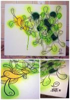 transparent green beings by juroo