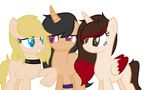Me and My friends (mlp form) by theponygaming