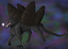 Angler Gryphon Chimera by miayan