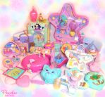 Polly Pocket Fantasy Batch by Princess-Peachie
