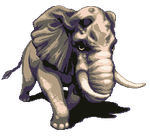Raging Elephant by T-Free