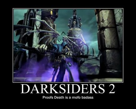 Darksiders 2 motivational poster by Primaltimediamond