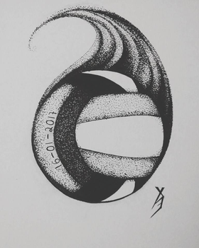 VOLLEYBALL SPIRIT. [Commision art - SPEED DRAWING] by Xe-none
