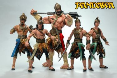 Pandawa Action Figure by Leorezca