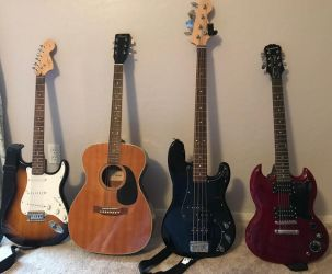 My Guitar Collection by Fox-Jake