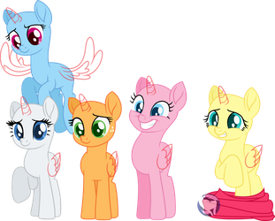 MLP Movie Base(2) - Do not worry, we'll help you! by DarlienJenter16