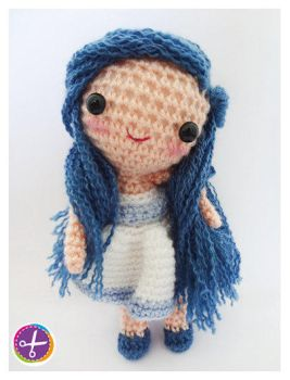 Galatea, Amigurumi Doll~ by HinaPalitah