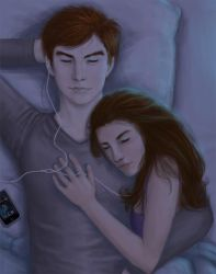 Edward and Bella's iPod by berrybiscotti