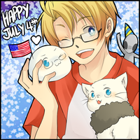 Happy Independance Day 2011 by glaceau