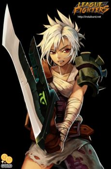 League of Fighters - Riven by 2gold
