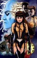 Silk Spectre - Watchmen colors by Maxahiss