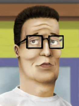 Hank Hill by JRSly