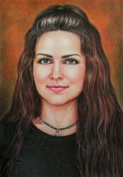 Portrait by evlena