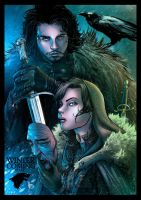 Starks - Game of Thrones by Adrianohq