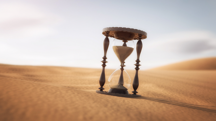 C4D - Sand of Time by PSK-Photo