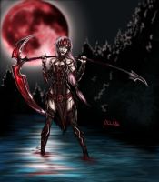 Blood Moon by Pocido