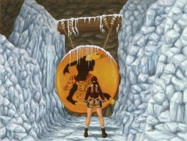 TR2 Ice Palace Gong by ArtisticAdventures