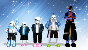 [MMD] Sans - es by rby121174