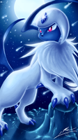 Absol by ShupaMikey