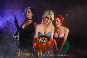 The Witcher - Halloween by MilliganVick