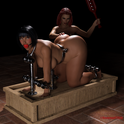 Milly Paddled by ReverendT69