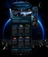 Space Website Makrolanium7 by CreatiX86
