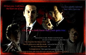 Sherlock, Moriarty, John by Into-Dark