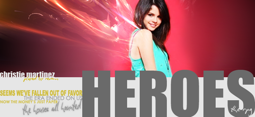 htr banner: christie martinez by bezerika14