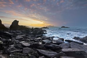 Black Rock Sunset by cprmay
