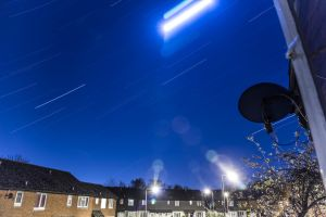 Star Trail 2014.12.09   00.15am by TMProjection