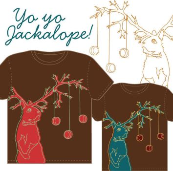 Yo Yo Jackalope by PipingPringle