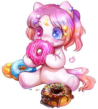 Pony Donut Lover by CatMag