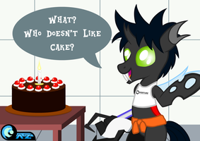 Cake for Flik by AZ-Derped-Unicorn