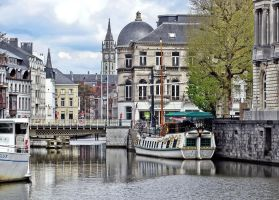 Gent, a channel view (new edit) by UdoChristmann