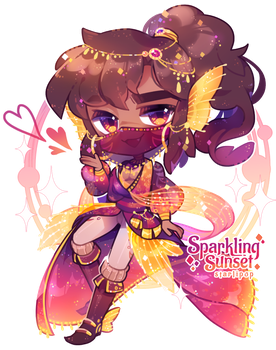 [Adopt] Sparkling Sunset by Starlipop