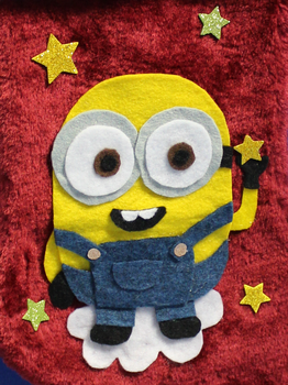 Minion Stocking Collage by MeMiMouse