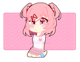 testing out styles - natsuki.chr (2) by TrexieTrickster