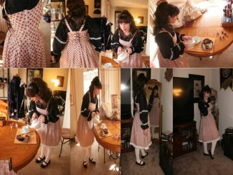Sweet Lolita Summer Dress MTO by racheldesade