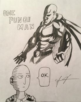 One Punch Man by Cromwell300