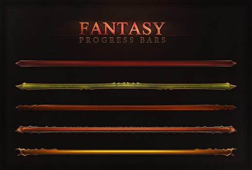 Fantasy Progress Bars by Evil-S