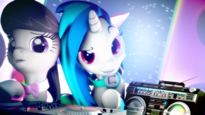 Leaning how to DJ by Ashura924