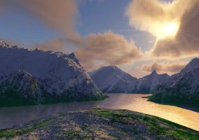 Mountains 1 by STsung