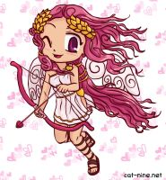 Monthly Myan and Friends - Cupid Hibi-Hibi by radstylix