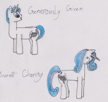 Generously Given and Sweet Charity by Errand-Girl