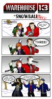 Warehouse 13 - 'Snowball' Part 2 by ComickerGirl