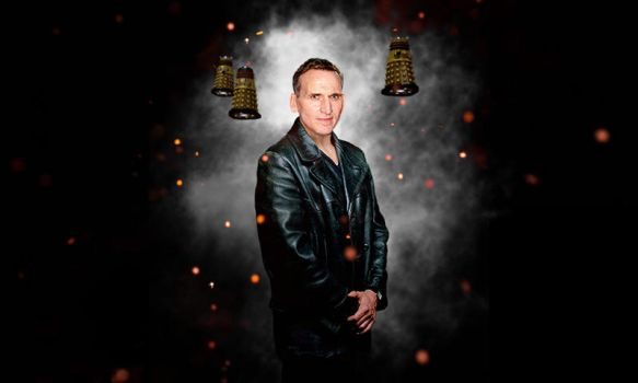 What if Eccleston Day of the Doctor wallpaper by Hisi79