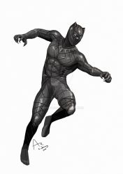 Black Panther by Fandias